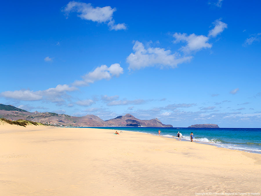 A trip to the island of Porto Santo